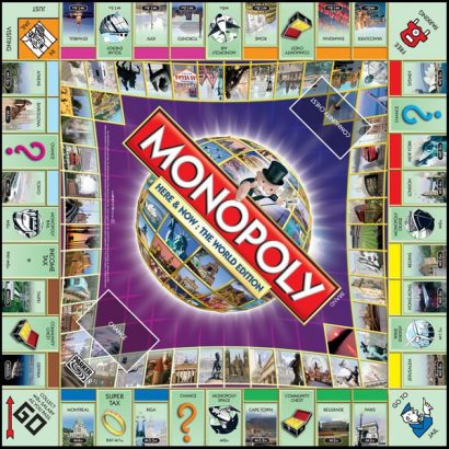 Монополия игровое поле