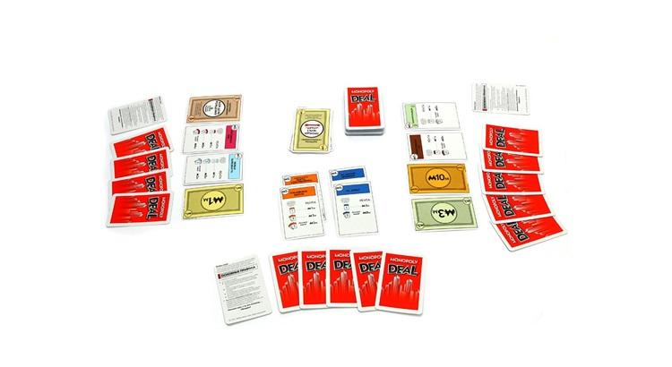 Монополия карточная игра