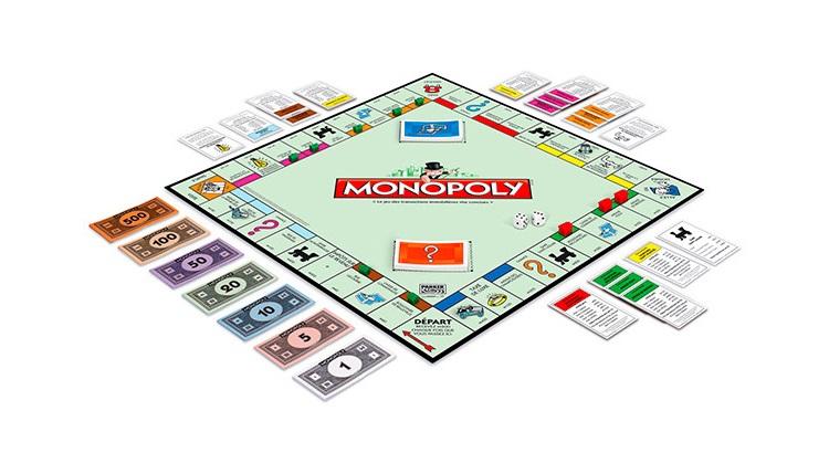 Скачать игровое поле для Монополии
