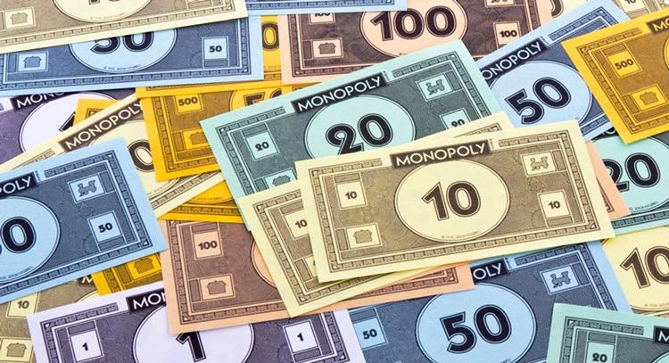 монополия деньги в начале игры