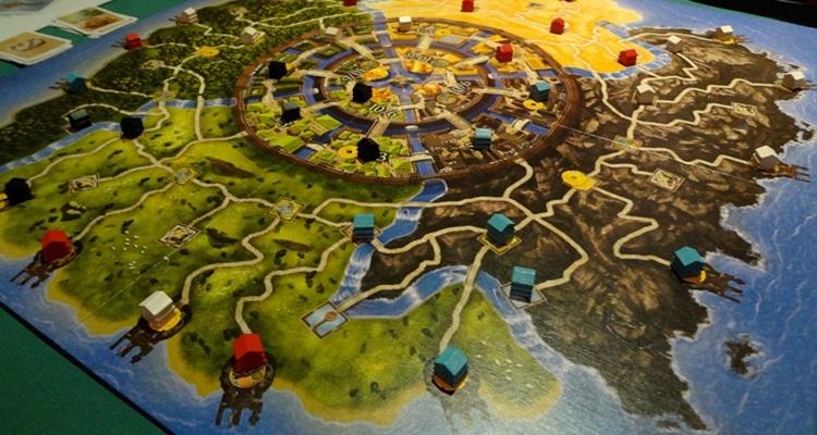 Настольная игра Золотой Город скачать