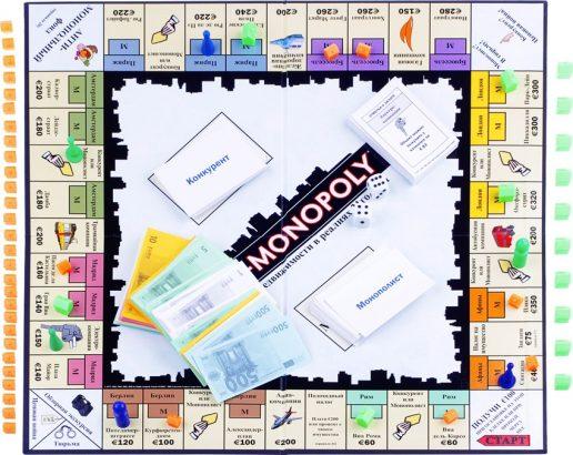 Антимонополия игровое поле