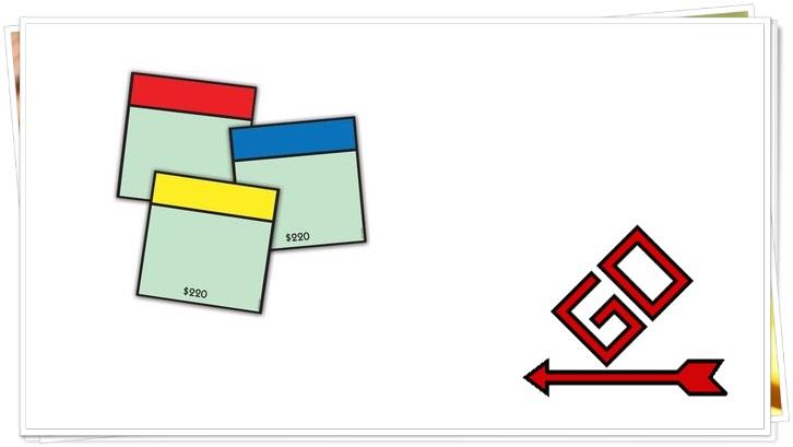 Монополия размер карт