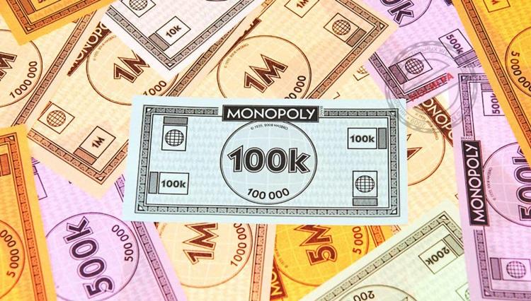 Как распечатать игровые деньги для монополии на черно-белом принтере