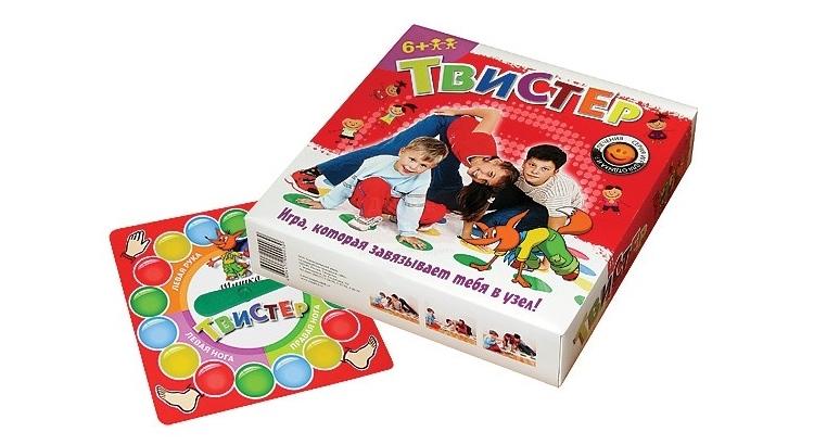 Твистер игра для детей