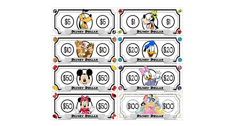 Картинки денег для детей для игры