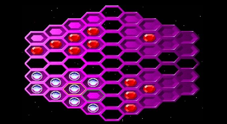 онлайн игра Hexxagon