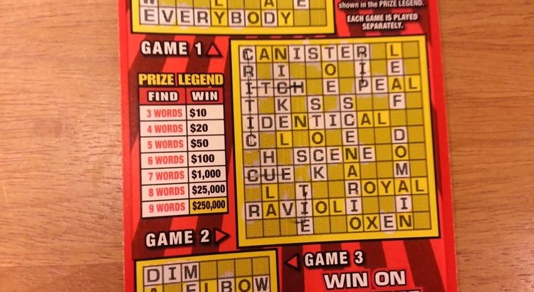 Каковы шансы на выигрыш в скретч лотерее