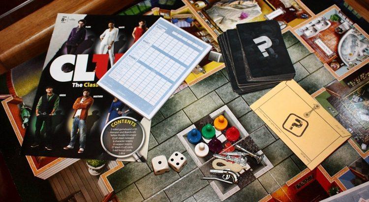 Настольные игры про детективов