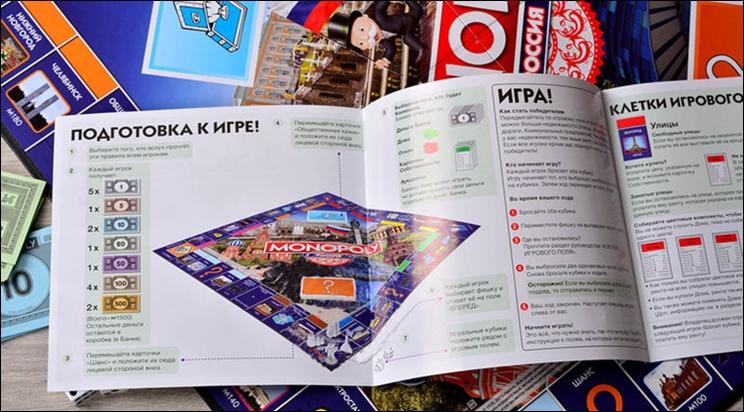 правила игры в монополию выдается денег
