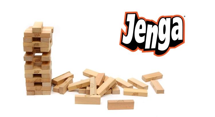 Настольная игра Дженга делаем своими руками