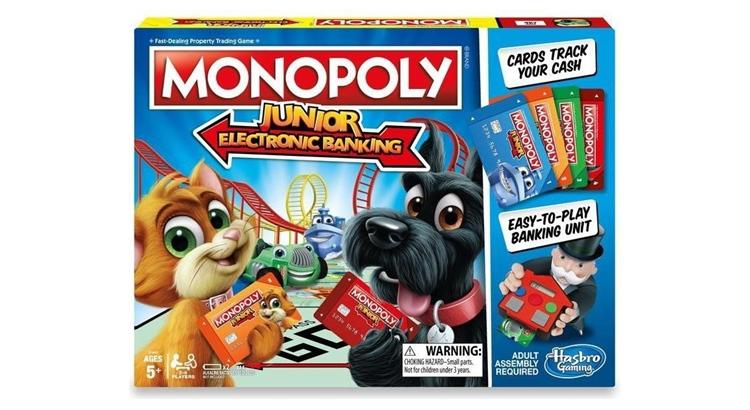 Детская монополия с банковскими картами правила