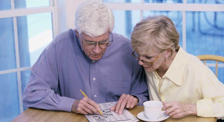 Игра для пенсионеров сканворд