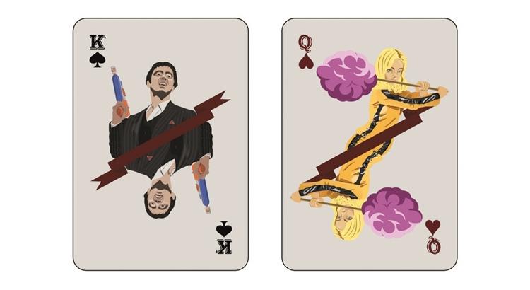 Как сделать игральные карты в иллюстраторе
