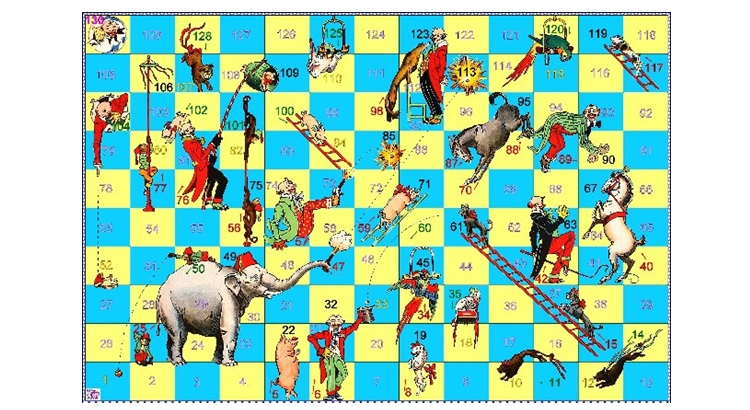 настольная игра цирк
