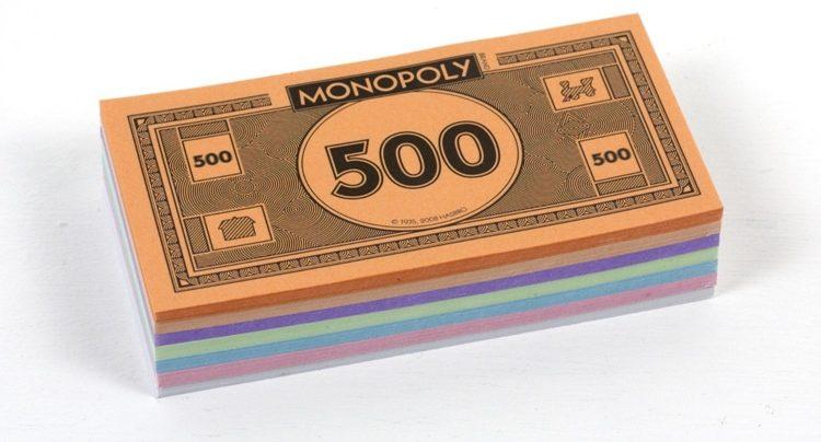 Игровые деньги для монополии распечатать