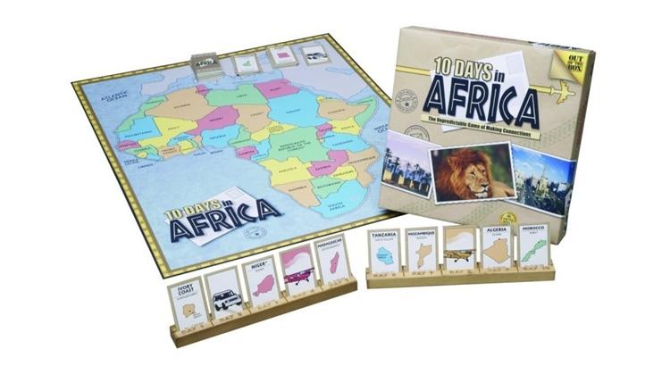 Настольная игра 10 дней в Африке