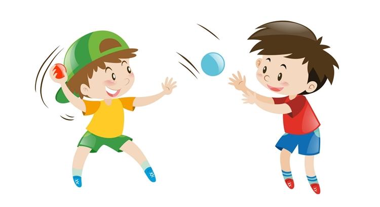 Правила игры «В яблочко» с мячом