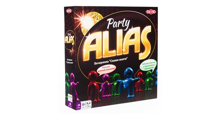Игра Alias Party карточки