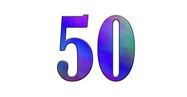 Номерки для лотереи от 1 до 50