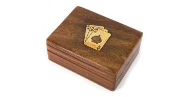 Футляр коробка для карт распечатать макет